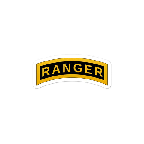 opszillastore,United States Army RANGER Tab Bubble-free stickers,