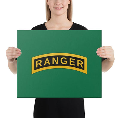 United States Army RANGER Tab Canvas - 16×20