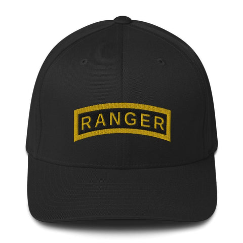 opszillastore,United States Army RANGER Tab Embroidered Structured Twill Cap,