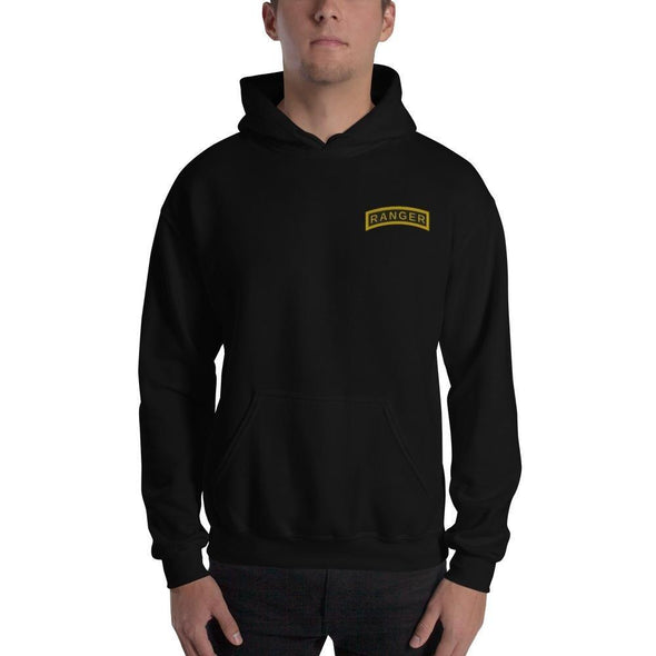 United States Army RANGER Tab Embroidered Unisex Hoodie