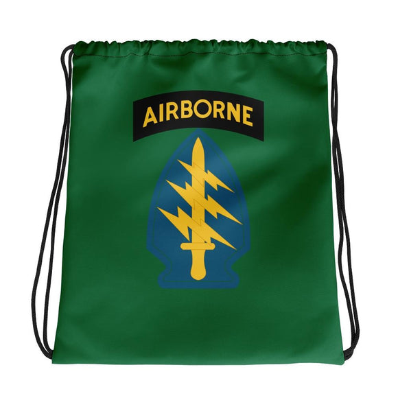 United States Army Special Forces Airborne Drawstring bag