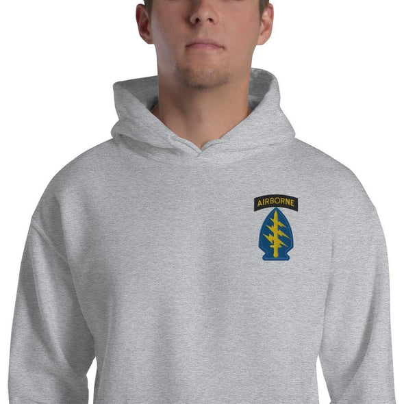 United States Army Special Forces Airborne Embroidered Unisex Hoodie
