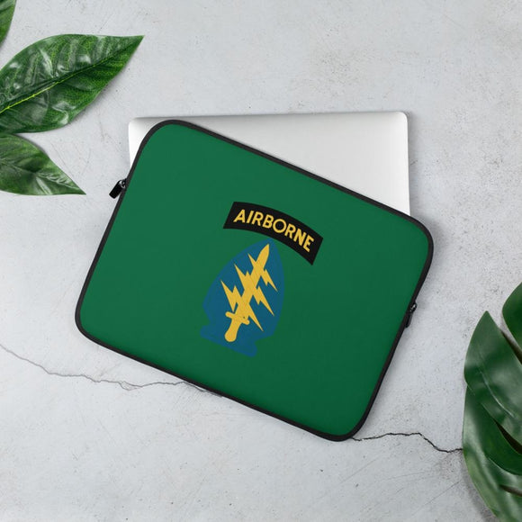 United States Army Special Forces Airborne Laptop Sleeve - 13 in