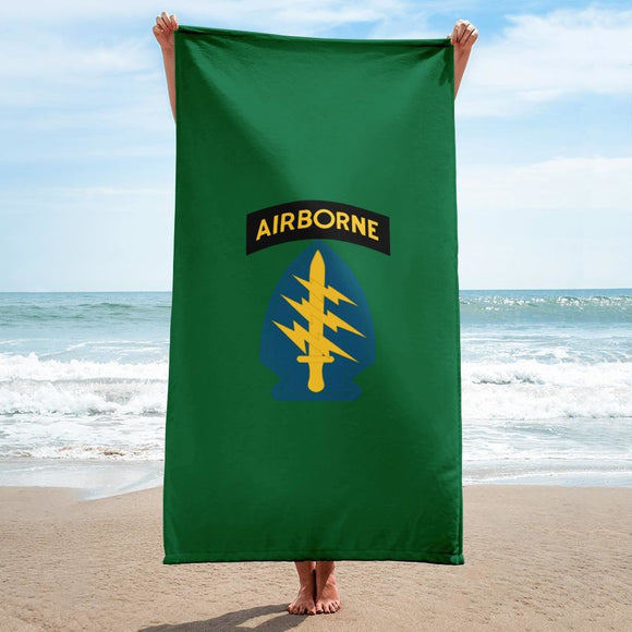 United States Army Special Forces Airborne Towel