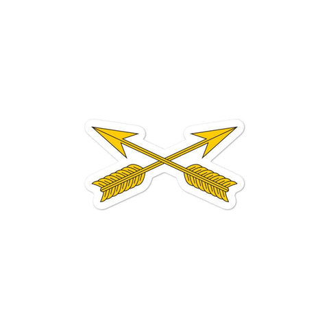 United States Army Special Forces Arrows Bubble-free stickers - 3x3