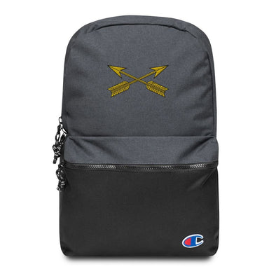 United States Army Special Forces Arrows Embroidered Champion Backpack