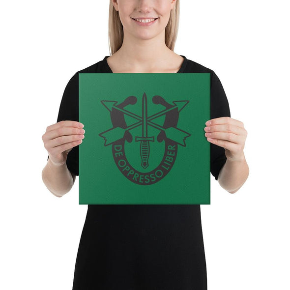 opszillastore,United States Army Special Forces Crest Canvas,