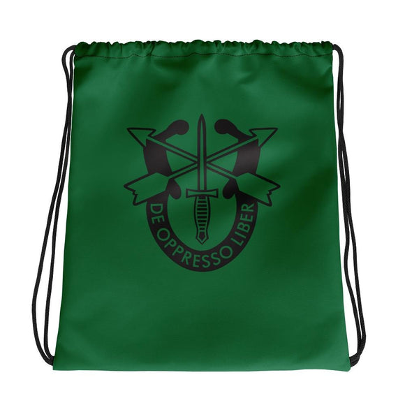 opszillastore,United States Army Special Forces Crest Drawstring bag,