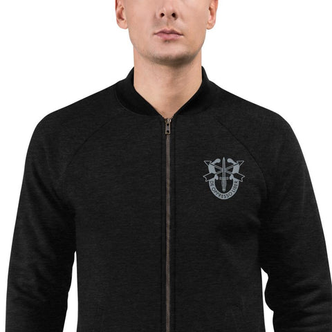 United States Army Special Forces Crest Embroidered Bomber Jacket - S