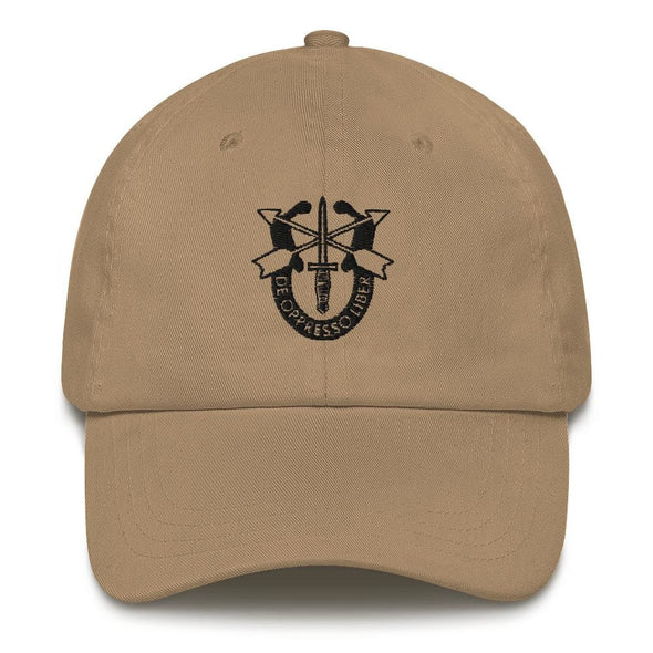 United States Army Special Forces Crest Embroidered Dad hat
