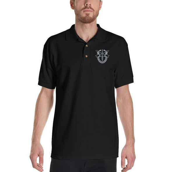United States Army Special Forces Crest Embroidered Polo Shirt