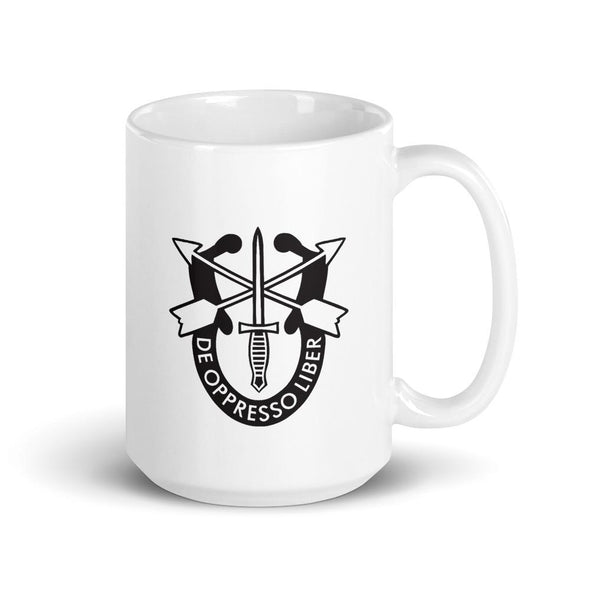United States Army Special Forces Crest Mug - 15oz