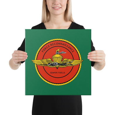 United States Marine Corps (USMC) Force Recon Canvas - 16×16