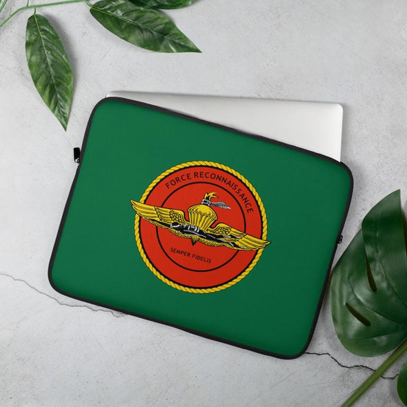 United States Marine Corps (USMC) Force Recon Laptop Sleeve - 15 in