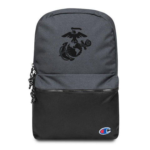 United States Marine Corps (USMC) Globe and Eagle Embroidered Champion Backpack
