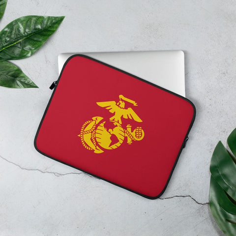 United States Marine Corps (USMC) Globe and Eagle Laptop Sleeve - 13 in