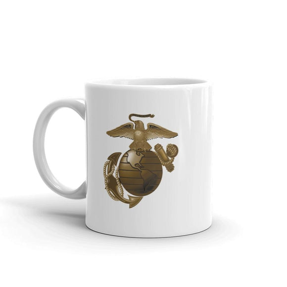 United States Marine Corps (USMC) Globe and Eagle Mug