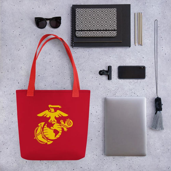 United States Marine Corps (USMC) Globe and Eagle Tote bag
