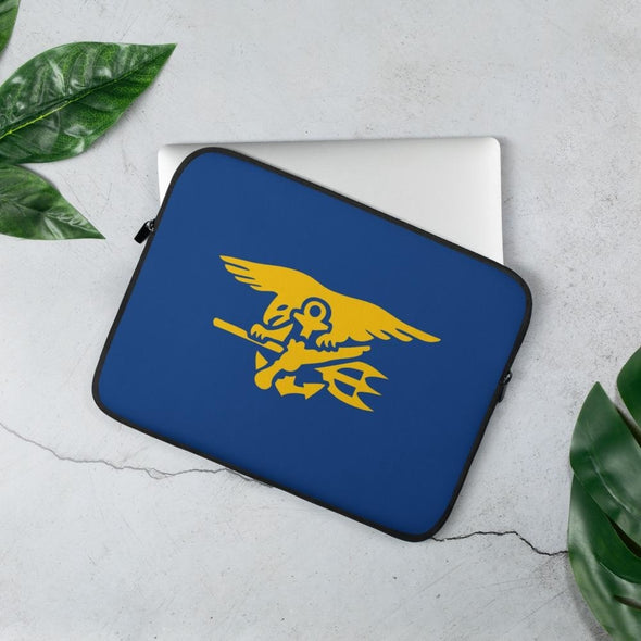 United States Navy SEAL Trident Laptop Sleeve - 13 in