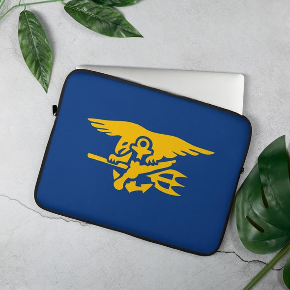 United States Navy SEAL Trident Laptop Sleeve - 15 in