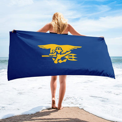 United States Navy SEAL Trident Towel