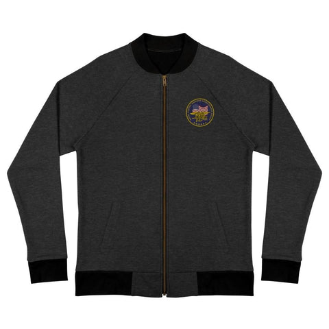 United States Navy Special Warfare Development Group (DEVGRU) Embroidered Bomber Jacket - Heather black / S