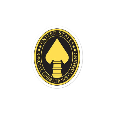 opszillastore,United States Special Operations Command Bubble-free stickers,