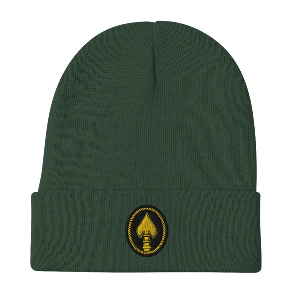 United States Special Operations Command Embroidered Beanie - Dark green