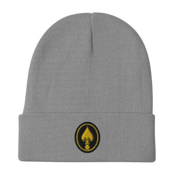 United States Special Operations Command Embroidered Beanie - Gray