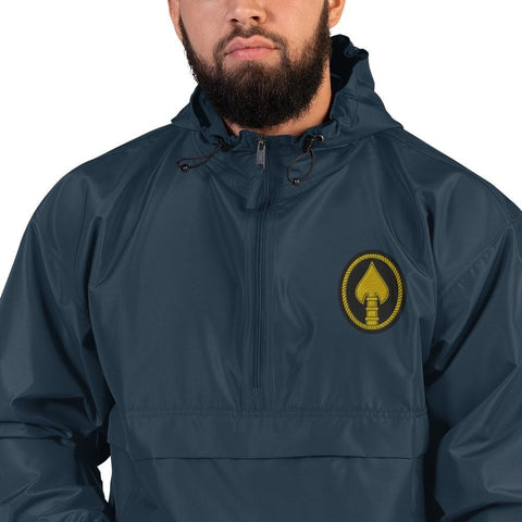 opszillastore,United States Special Operations Command Embroidered Champion Packable Jacket,
