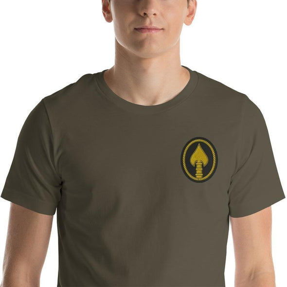 United States Special Operations Command Embroidered Short-Sleeve Unisex T-Shirt - Army / S