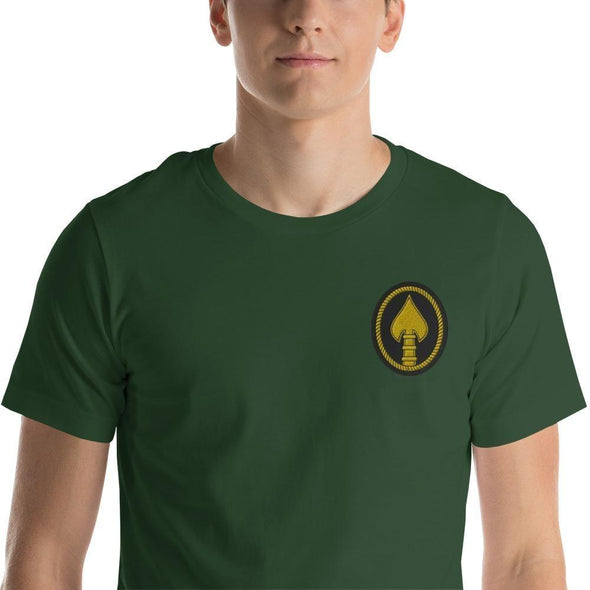 United States Special Operations Command Embroidered Short-Sleeve Unisex T-Shirt - Forest / S