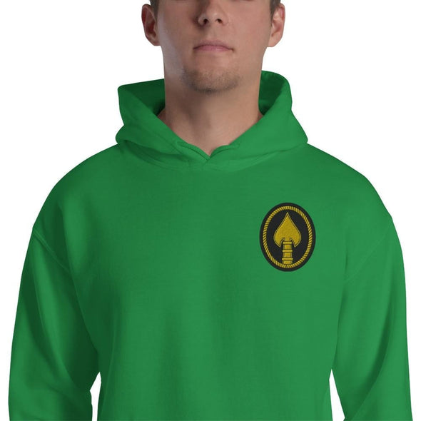 United States Special Operations Command Embroidered Unisex Hoodie - Irish Green / S