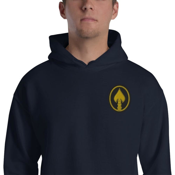 United States Special Operations Command Embroidered Unisex Hoodie - Navy / S