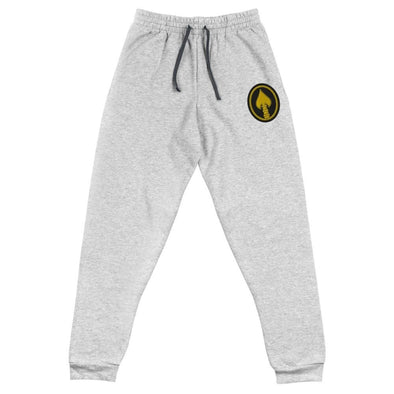United States Special Operations Command Embroidered Unisex Joggers - Athletic Heather / S