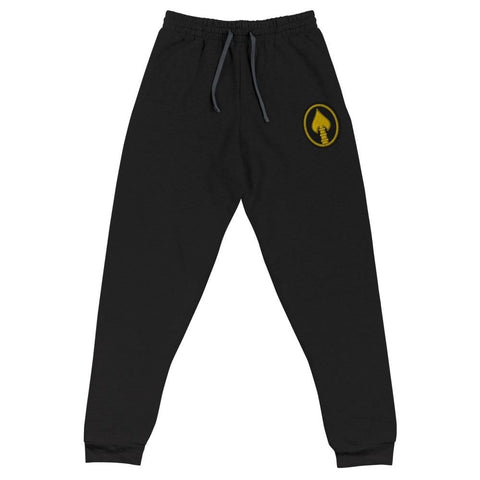 United States Special Operations Command Embroidered Unisex Joggers - Black / S