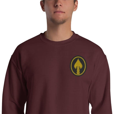 United States Special Operations Command Embroidered Unisex Sweatshirt - Maroon / S