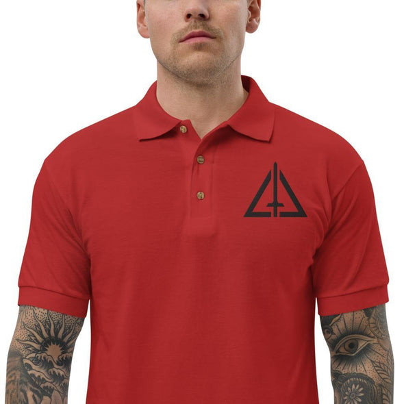 Urban Warfare Center Embroidered Polo Shirt - Red / S