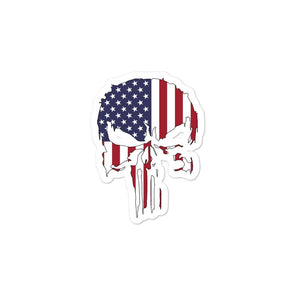 opszillastore,USA Punisher Bubble-free stickers,