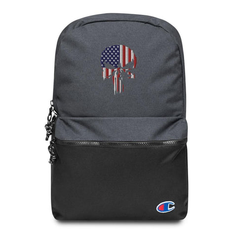 USA Punisher Embroidered Champion Backpack