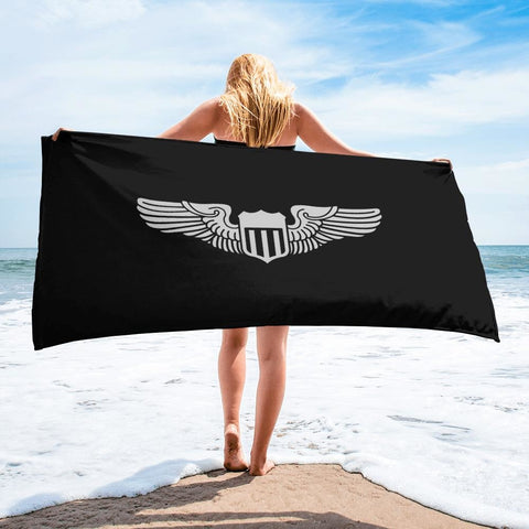 USAF Pilot Wings Towel