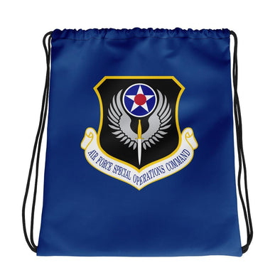 opszillastore,USAF Special Operations Command Drawstring bag,