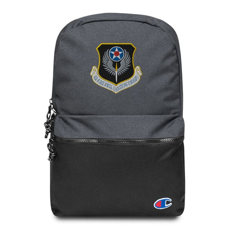 USAF Special Operations Command Embroidered Champion Backpack