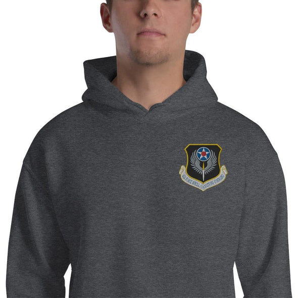 opszillastore,USAF Special Operations Command Embroidered Unisex Hoodie,