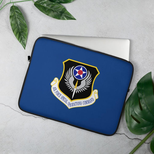 opszillastore,USAF Special Operations Command Laptop Sleeve,