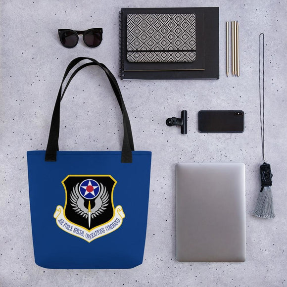 opszillastore,USAF Special Operations Command Tote bag,