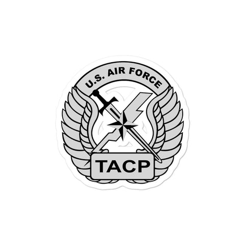 opszillastore,USAF Tactical Air Control Party (TACP) Crest Bubble-free stickers,