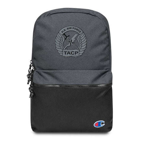 USAF Tactical Air Control Party (TACP) Crest Embroidered Champion Backpack