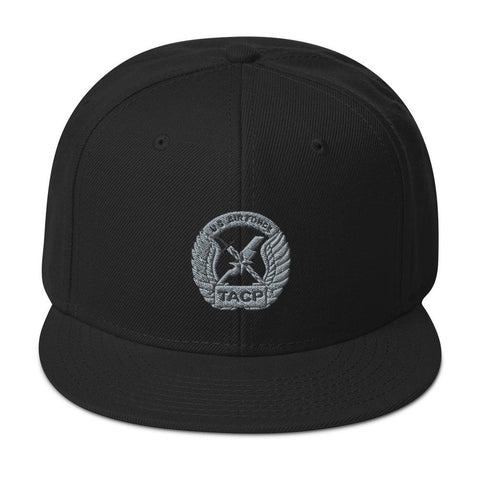 opszillastore,USAF Tactical Air Control Party (TACP) Crest Embroidered Snapback Hat,