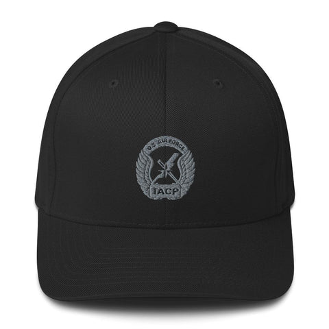 opszillastore,USAF Tactical Air Control Party (TACP) Crest Embroidered Structured Twill Cap,